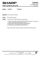 Buy Sharp VCM21HM-002 Service Schematics by download #158724