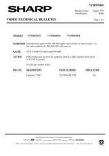 Buy Sharp VCMH69HM-008 Service Schematics by download #159145