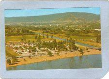 Buy CAN Penticon Postcard Skaha Beach & Okanagen Canal w/City Of Penticon In B~4