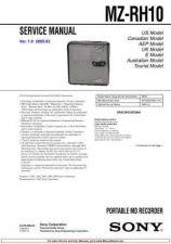 Buy SONY MZ RH10 SM Service Manual by download #167120