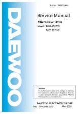 Buy Daewoo R6C375S001 Manual by download #168921