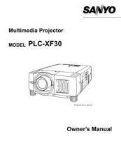 Buy Sanyo PLC-XU47 Manual by download #175028