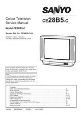 Buy SANYO CE-28CHN5F Service Data by download #133477