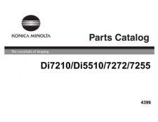 Buy Minolta PARTSDI7210 DI5510 Service Schematics by download #137538