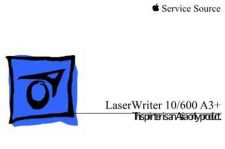 Buy APPLE LASERWRITER 10600 Service Manual by download #146217