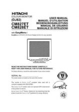 Buy Sanyo CM828ET ES Manual by download #173663