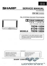 Buy Sharp 70-81DW15SN-18SN SM GB Manual.pdf_page_1 by download #178802