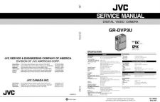 Buy JVC GR-DVP3U TECHNICAL DATA by download #130883