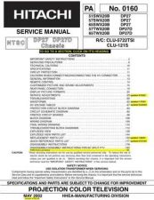 Buy Hitachi 0160001 Service Manual by download Mauritron #192917