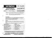 Buy HITACHI 31DX10B USA Service Manual by download #163242