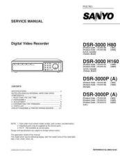 Buy Sanyo DSR-3000P Manual by download #174103