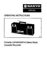 Buy Sanyo M-1119 Operating Guide by download #169353