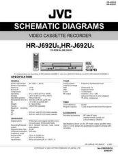 Buy JVC HR-J692U Schem Service Schematics by download #155946