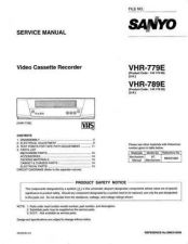 Buy Sanyo VHR-789E Manual by download #177454