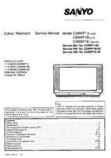 Buy Sanyo C28WP1B SM-Onl Manual by download #171283