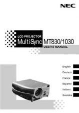 Buy Sharp 911 MT830 USER MANUAL Manual by download #178921