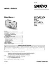 Buy Sanyo VPCAZ3(Owners Manual) Manual by download #177534