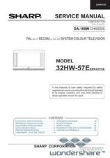 Buy Sharp 32HW57E SM GB(1) Manual.pdf_page_1 by download #178247