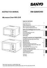 Buy Sanyo EM-FL50N Manual by download #174290