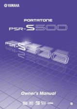 Buy Yamaha PSRS500_EN_OM_A1 Operating Guide by download Mauritron #204237