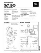Buy INFINITY SVA1800 TS Service Manual by download #151571