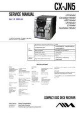 Buy AIWA CX-JN5 TECHNICAL INFO by download #125252