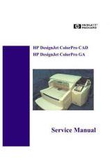 Buy HP DESKJET COLORPRO CAD GA SERVICE MANUAL by download #151260