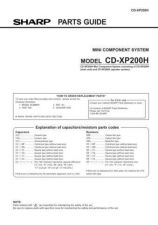 Buy CDXP200H PARTS GUIDE Service Data by download #132527