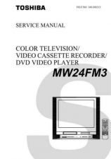 Buy TOSHIBA MW24FM3 SCHEMDIAG Service Schematics by download #160311