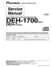 Buy PIONEER C3381 Service Data by download #149214