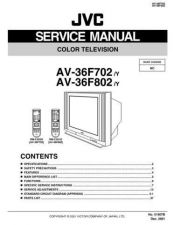 Buy JVC AV-36F702 Service Schematics by download #155372
