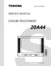 Buy TOSHIBA 20A44SVM ON by download #129127