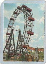 Buy AUT Austria Amusement Park Postcard The Big Wheel In The Prater top_box1~488