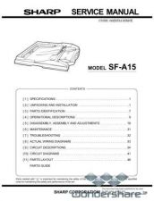 Buy Sharp 127 SF-A15 Manual.pdf_page_1 by download #177682