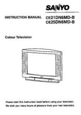 Buy Sanyo CE21DN6MD-B Manual by download #172933