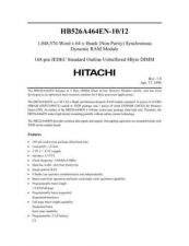 Buy HITACHI 526A464E Manual by download Mauritron #185739