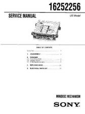 Buy SONY 16252256 Service Manual by download #166191