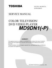Buy TOSHIBA MD9DN1P SUMMARY ON by download #129513