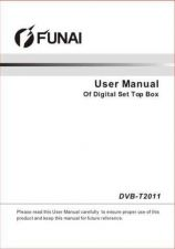 Buy Funai DVB-T2011(SWEDISH) Owners User Guide Operating by download #162102