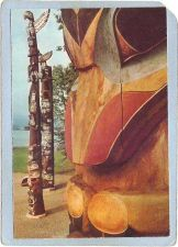 Buy CAN Vancouver Postcard Totem Poles In Stanley Park can_box1~106