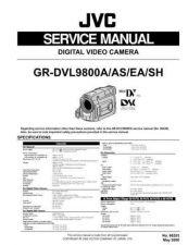 Buy GR-DVL9800A, DVL9800A-S, DVL9800EA, DVL9800SH 86553 Service Schematics by downlo