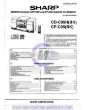 Buy Sharp CD-CP-RP302H-E SM GB Manual by download #179996