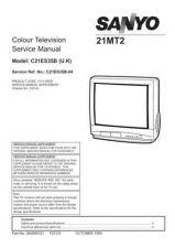 Buy Sanyo 21MT2 C21ES35B-04 SM Manual by download #172615