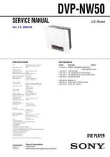 Buy SONY DVP-NW50 Service Manual by download #166786