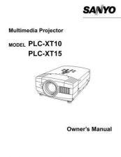 Buy Sanyo PLC-XP30 2 Manual by download #174913