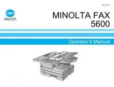 Buy Minolta MF5600 MINOLTAFAX5600 OPS MANUAL Service Schematics by download #138266