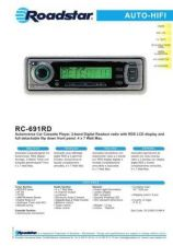 Buy ROADSTAR RC-691RD by download #128380