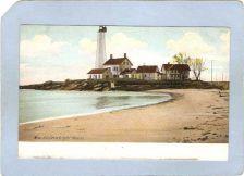 Buy CT New London Lighthouse Postcard New London Ligththouse lighthouse_box1, ~78