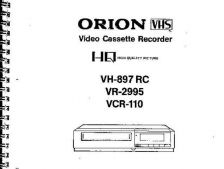 Buy ORION VH1030RC VH1040RC VH1060RC VH1050RC VR1032RC VR2979 Service Manual by do