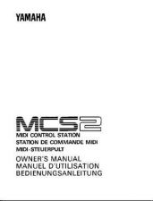 Buy Yamaha MCS2E Operating Guide by download Mauritron #203825